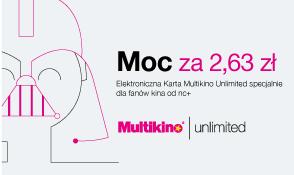 Karta Multikino Unlimited dla klientów NC+