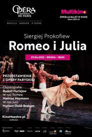 Romeo i Julia z Opéra national de Paris (Opéra Bastille)