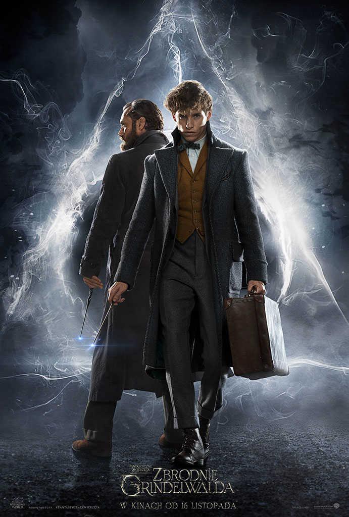 Plakat filmu Fantastyczne zwierzęta: Zbrodnie Grindelwalda (2018)