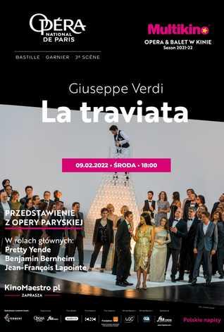 La traviata z Opéra national de Paris (Palais Garnier)