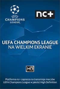 Liga Mistrzów UEFA na wielkim ekranie