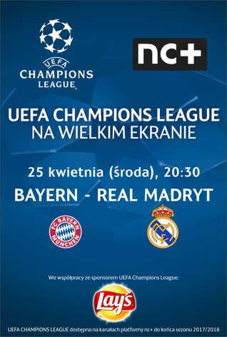 Liga Mistrzów UEFA: BAYERN - REAL MADRYT