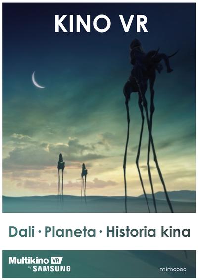 Multikino VR: Salvador Dali, Planeta ∞, Historia Kina