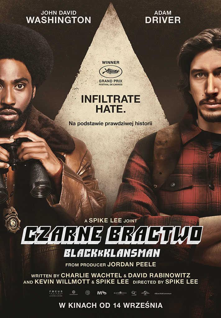 Czarne Bractwo. BlacKkKlansman