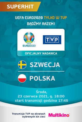 POLSKA:SZWECJA - UEFA EURO 2020 - Transmisja TVP