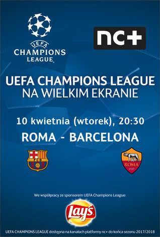Liga Mistrzów UEFA: Roma - Barcelona