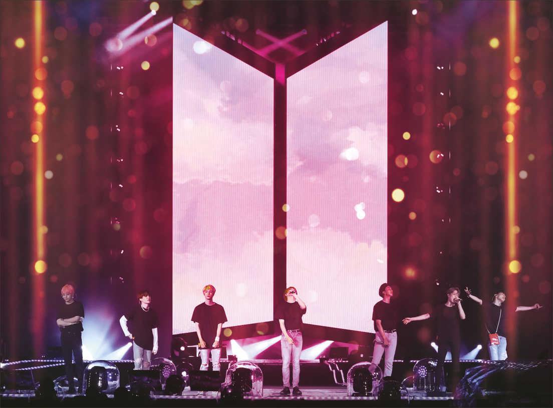 BTS WORLD TOUR LOVE YOURSELF. Koncert z Seulu