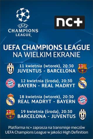 LM UEFA: Juventus : Barcelona