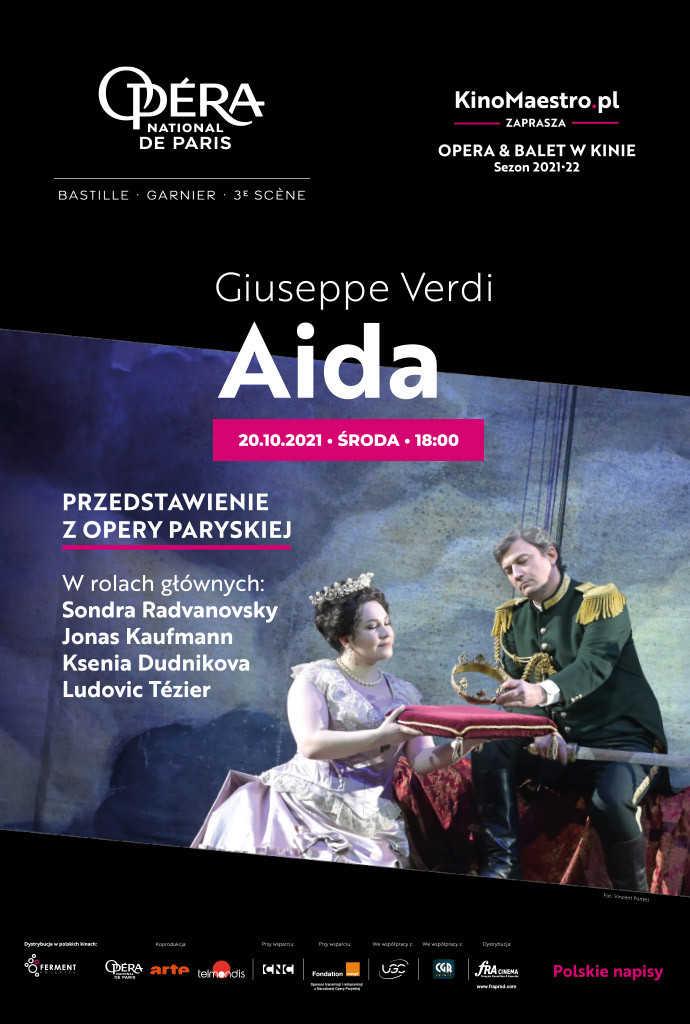 Aïda z Opéra national de Paris (Opéra Bastille)