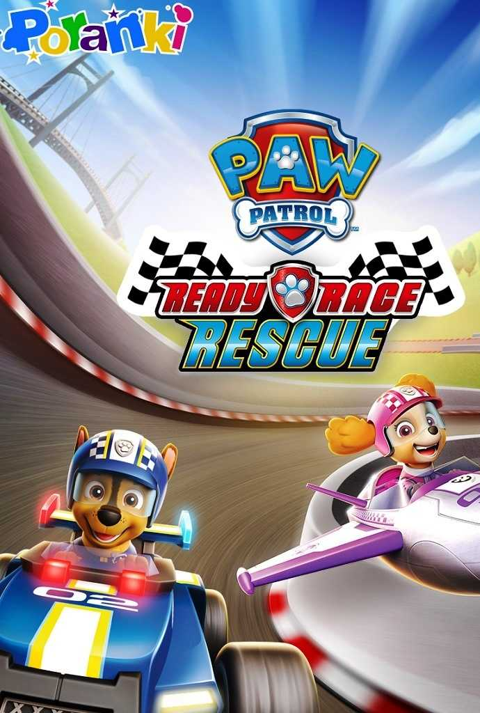 Poranki: Psi Patrol  - Ready Race Rescue