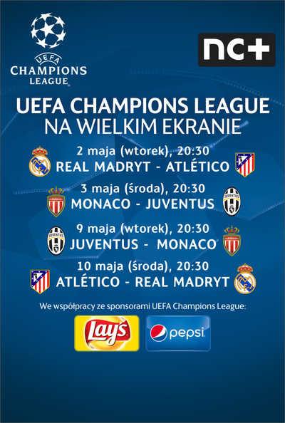 LM UEFA: Monaco - Juventus