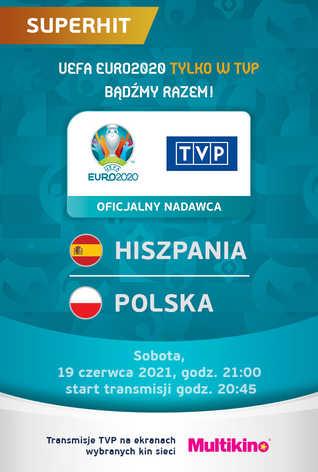 POLSKA:HISZPANIA - UEFA EURO 2020 - Transmisja TVP