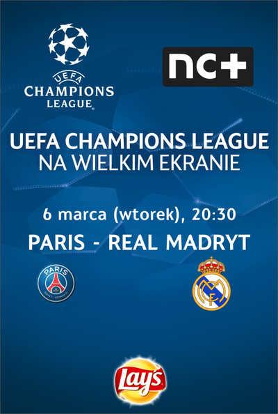 Liga Mistrzów UEFA: Paris - Real Madryt