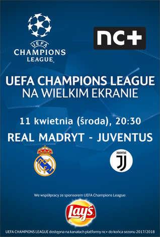 Liga Mistrzów UEFA: Real Madryt - Juventus
