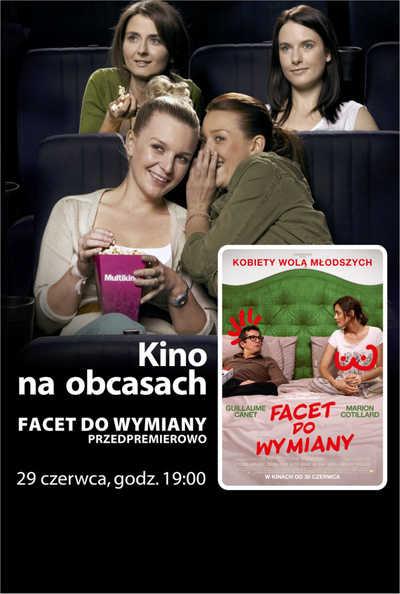 Kino na Obcasach: Facet do wymiany