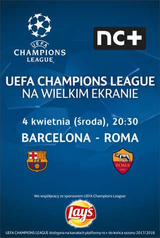 Liga Mistrzów UEFA: Barcelona - Roma