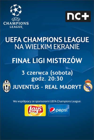 LM UEFA FINAŁ: Juventus - Real Madryt