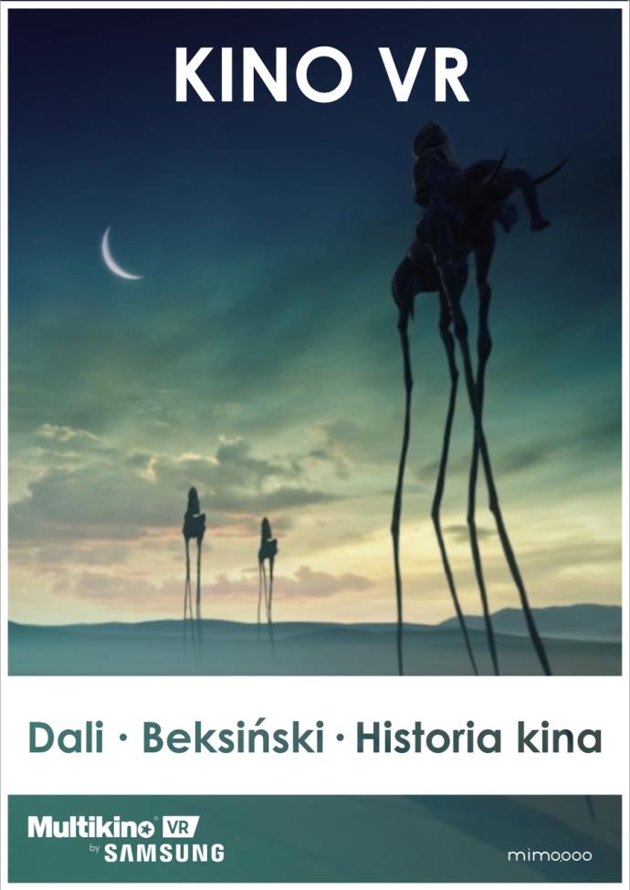 Multikino VR: Beksiński, Dali, historia kina