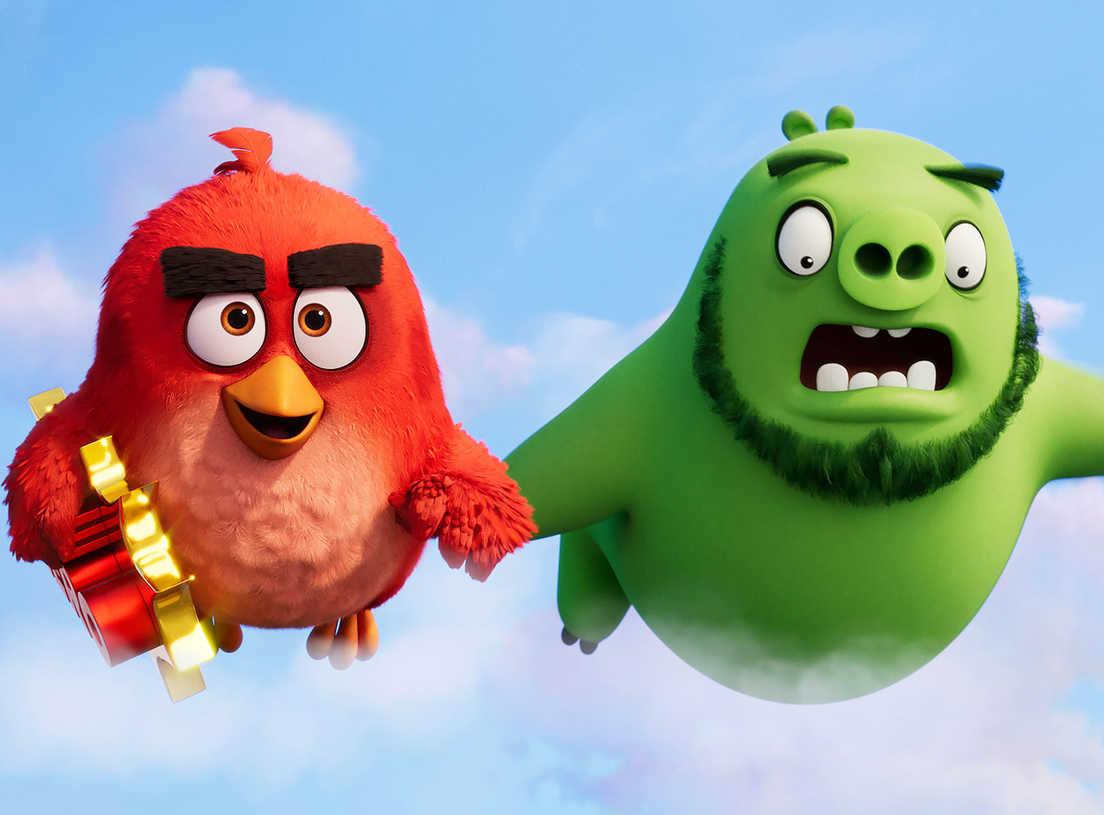 Znalezione obrazy dla zapytania angry birds 2 film