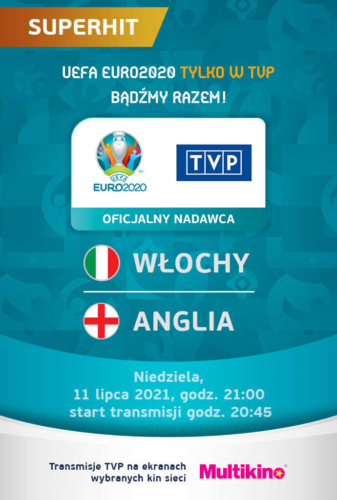 FINAŁ UEFA EURO 2020 - Transmisja TVP
