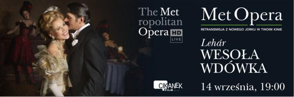 Met Opera - Wesoła wdówka