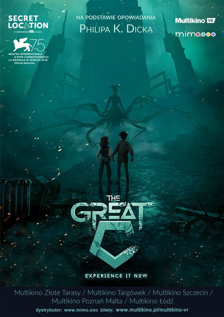 Bilety na: Multikino VR: The Great C