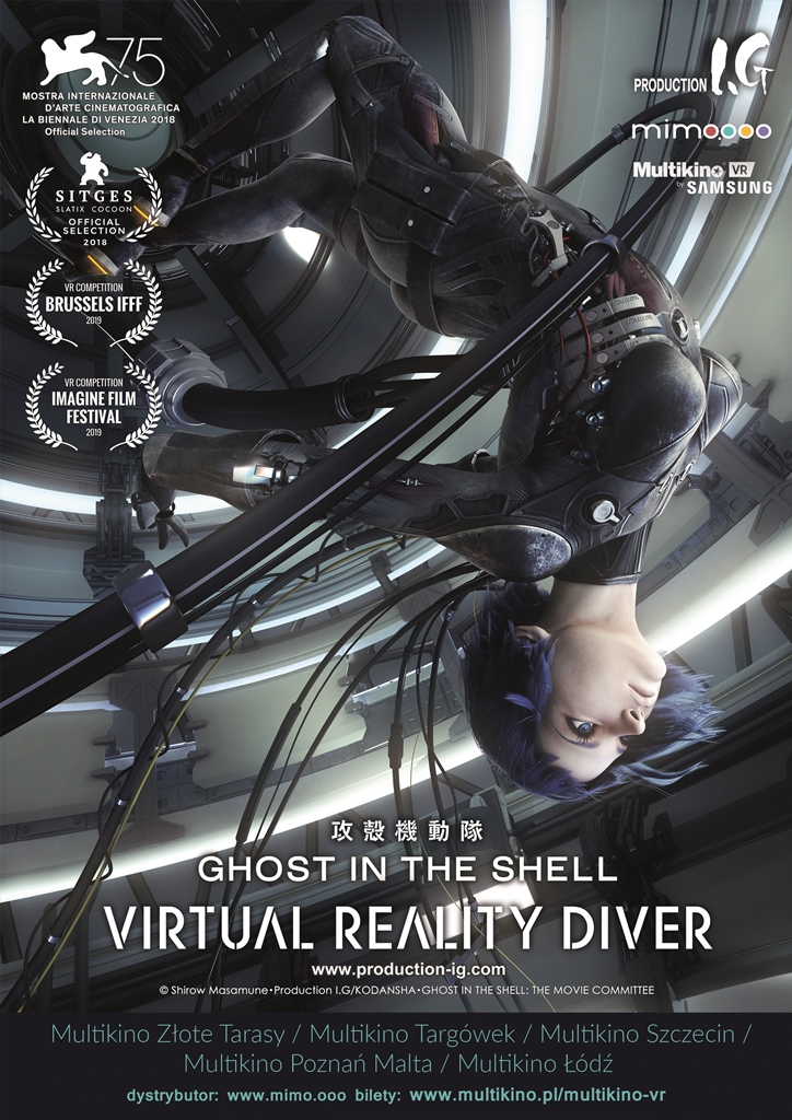 Bilety na: Multikino VR: Ghost in The Shell