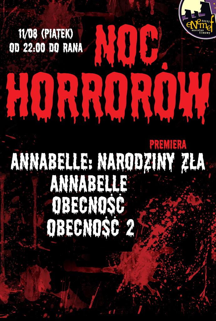 ENEMEF: Noc Horrorów z premierą Annabelle