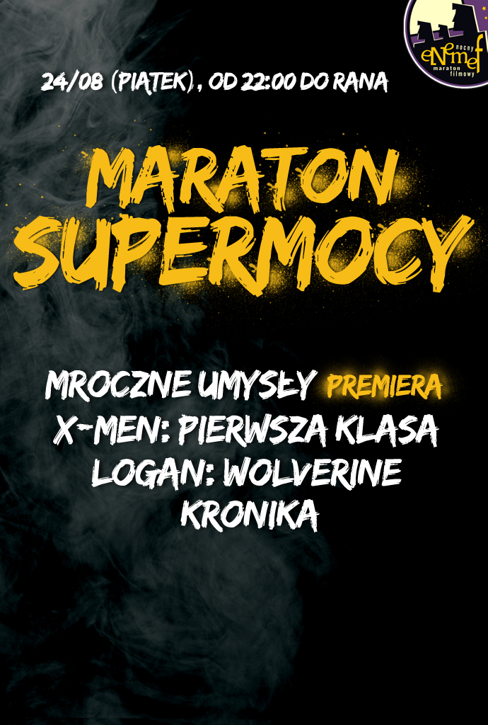 Bilety na: ENEMEF: Maraton Supermocy