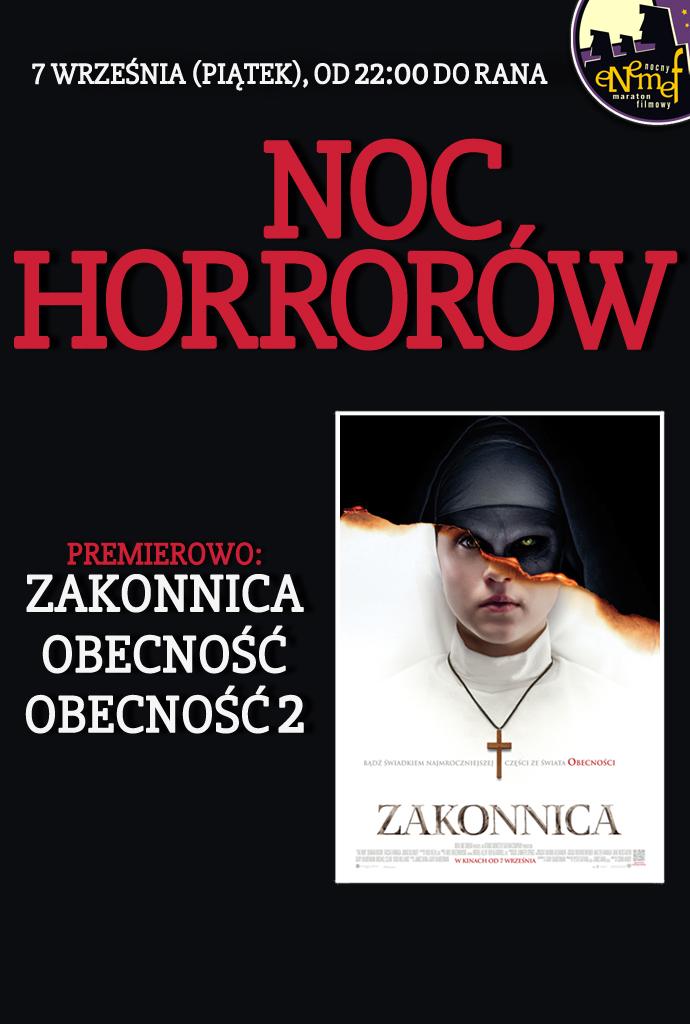 ENEMEF: Noc horrorów z Zakonnicą