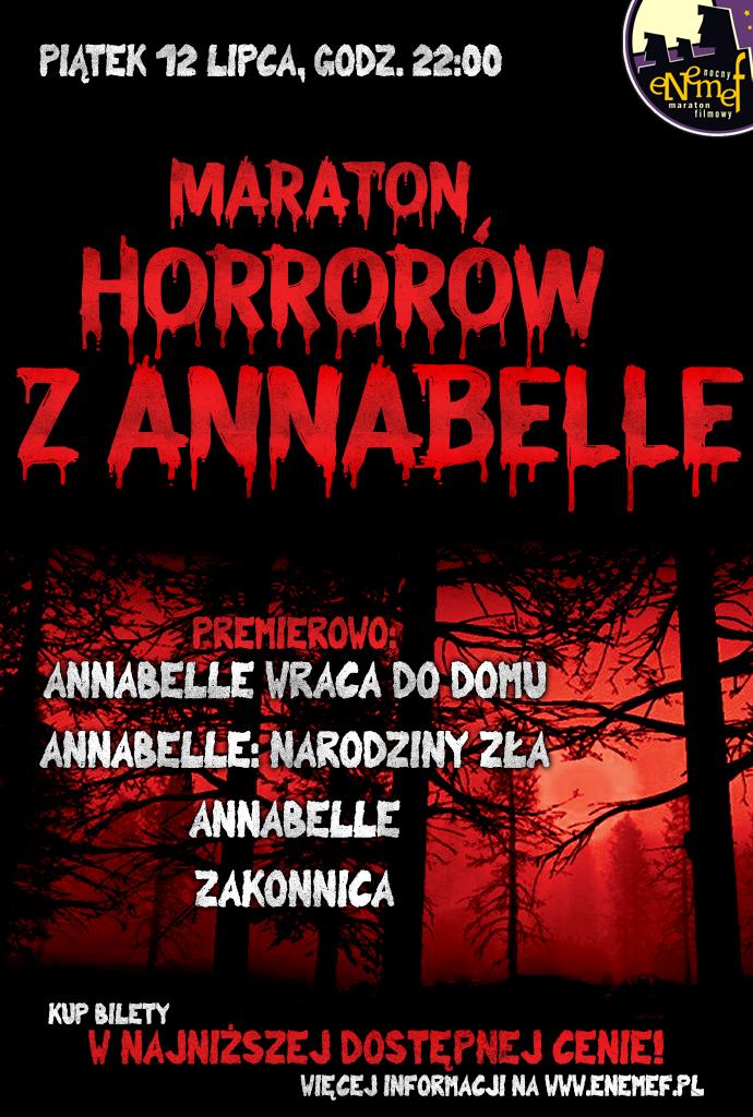 ENEMEF: Maraton Horrorów z Annabelle