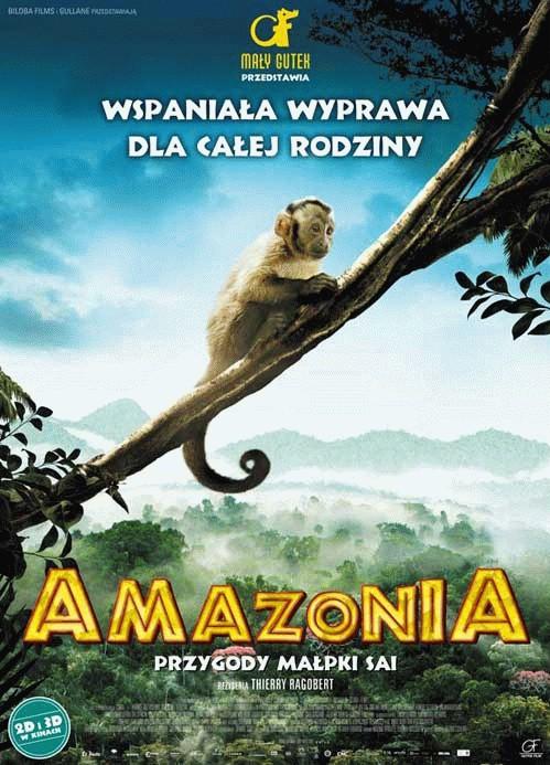 Amazonia. Przygody małpki Sai 3D