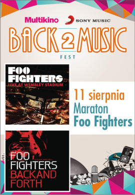 Back2Music Fest: Maraton Foo Fighters