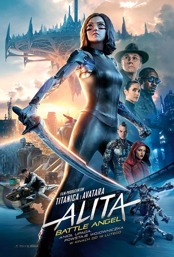 Bilety na: Alita: Battle Angel