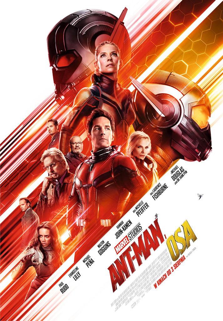 Plakat filmu Ant-Man i Osa (2018)