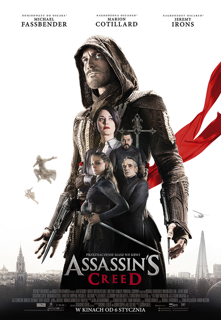 Bilety na: Assassin's Creed