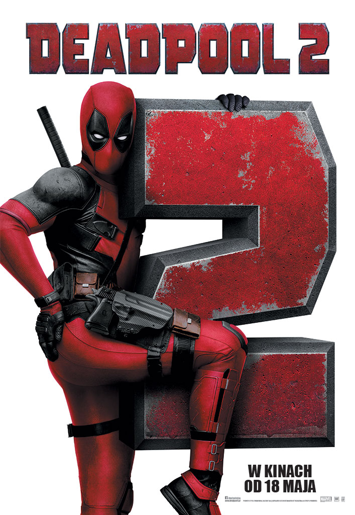 Bilety na: Deadpool 2