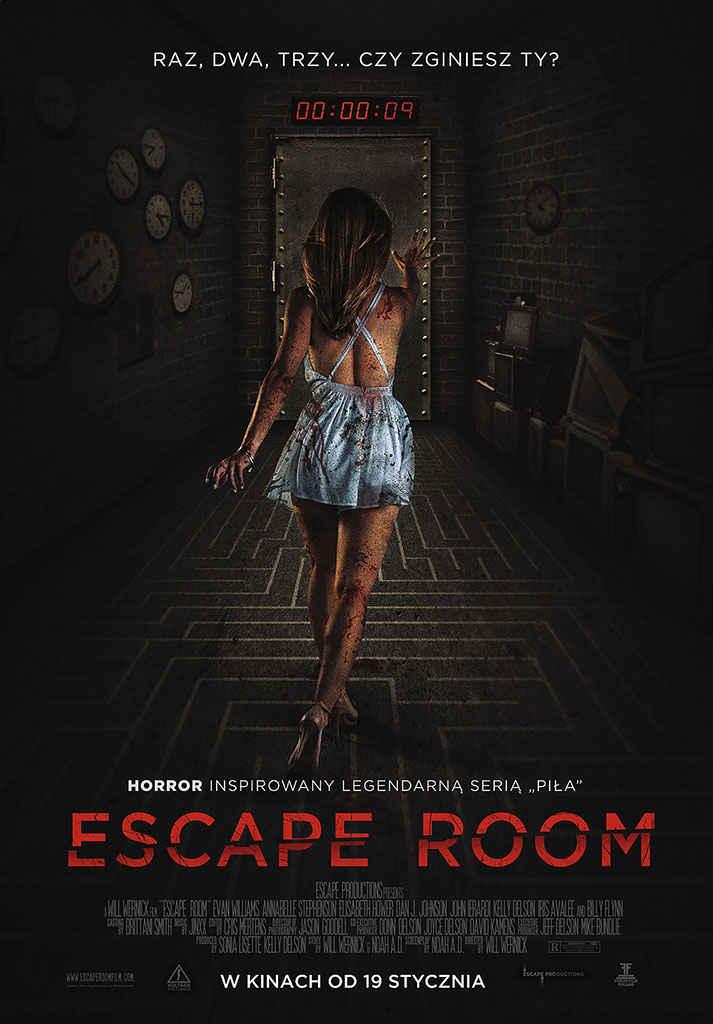 Bilety na: Escape Room