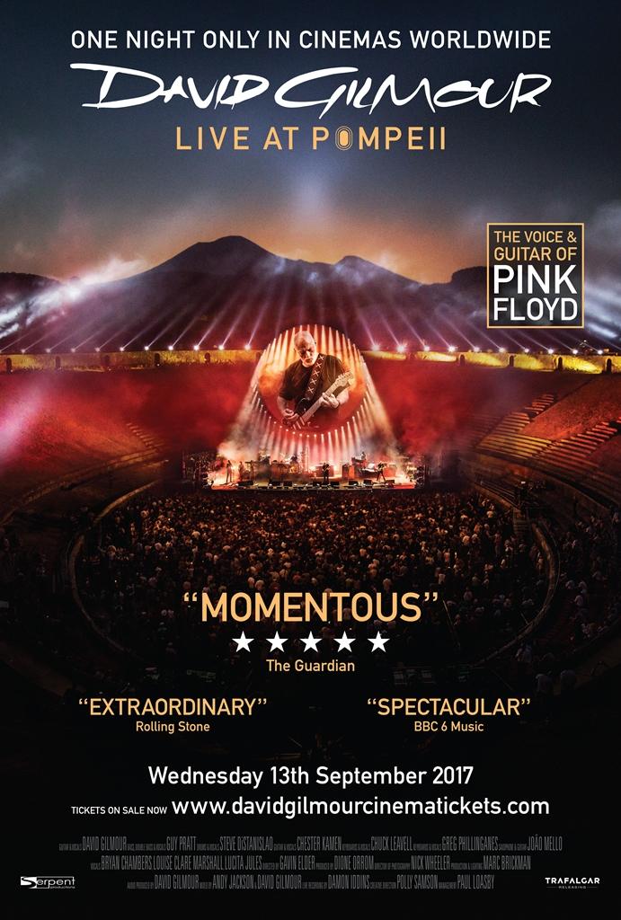 David Gilmour: Koncert z Pompejów