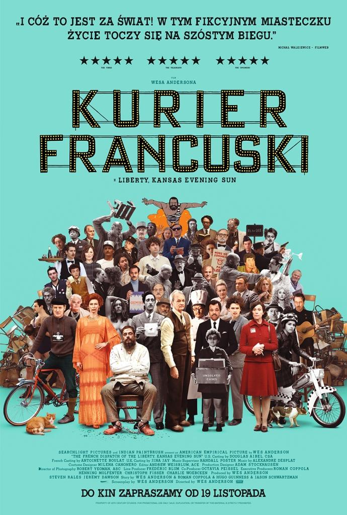 KURIER FRANCUSKI Z LIBERTY, KANSAS EVENING SUN