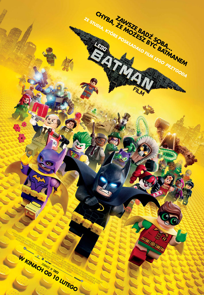 Bilety na: LEGO® BATMAN: FILM
