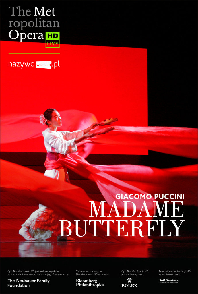 Bilety na: Met Opera: Madame Butterfly LIVE