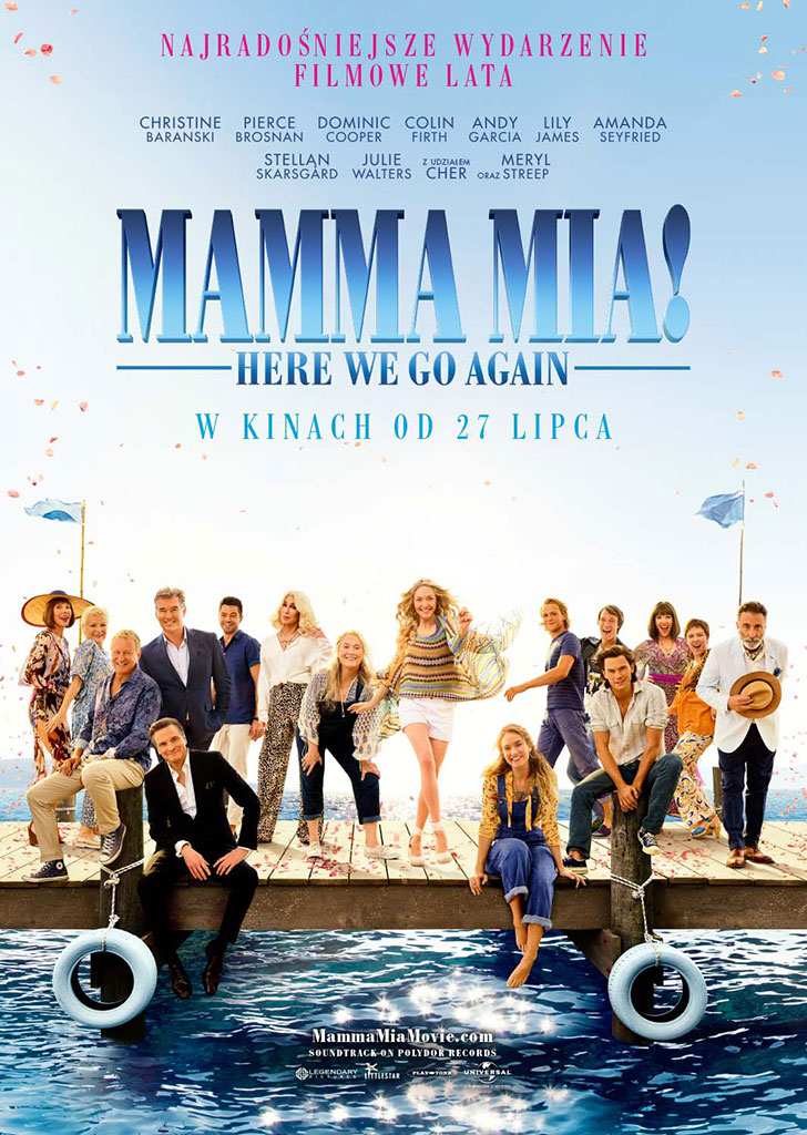 Bilety na: Mamma Mia! Here We Go Again!
