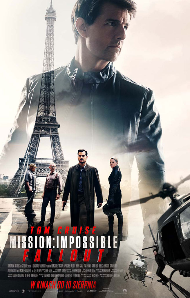 Bilety na: Mission: Impossible - Fallout