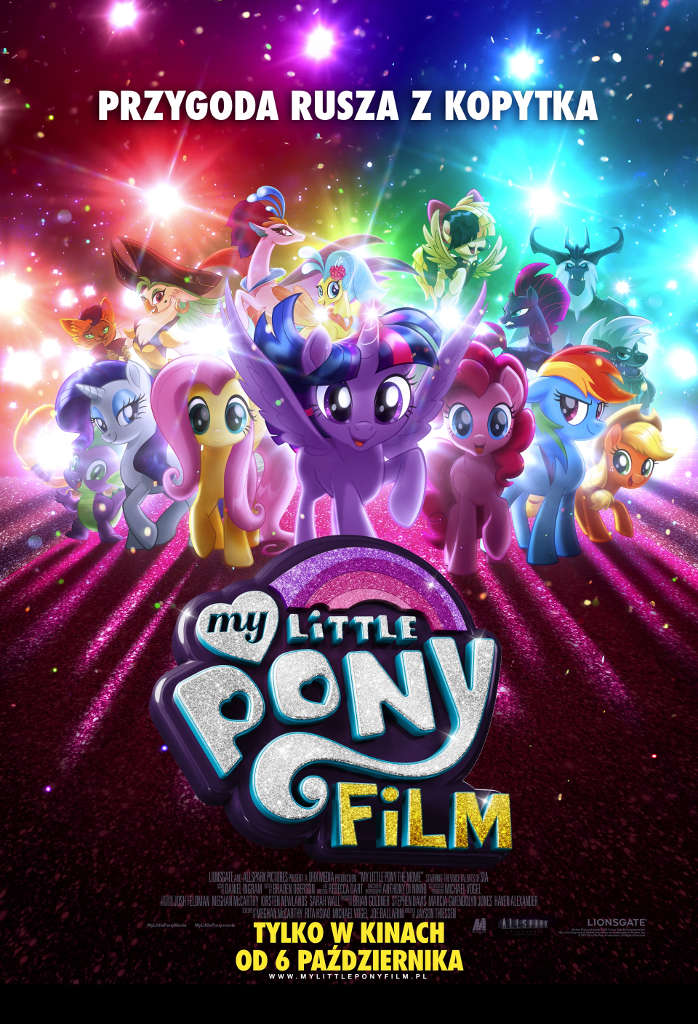 Bilety na: My Little Pony. Film