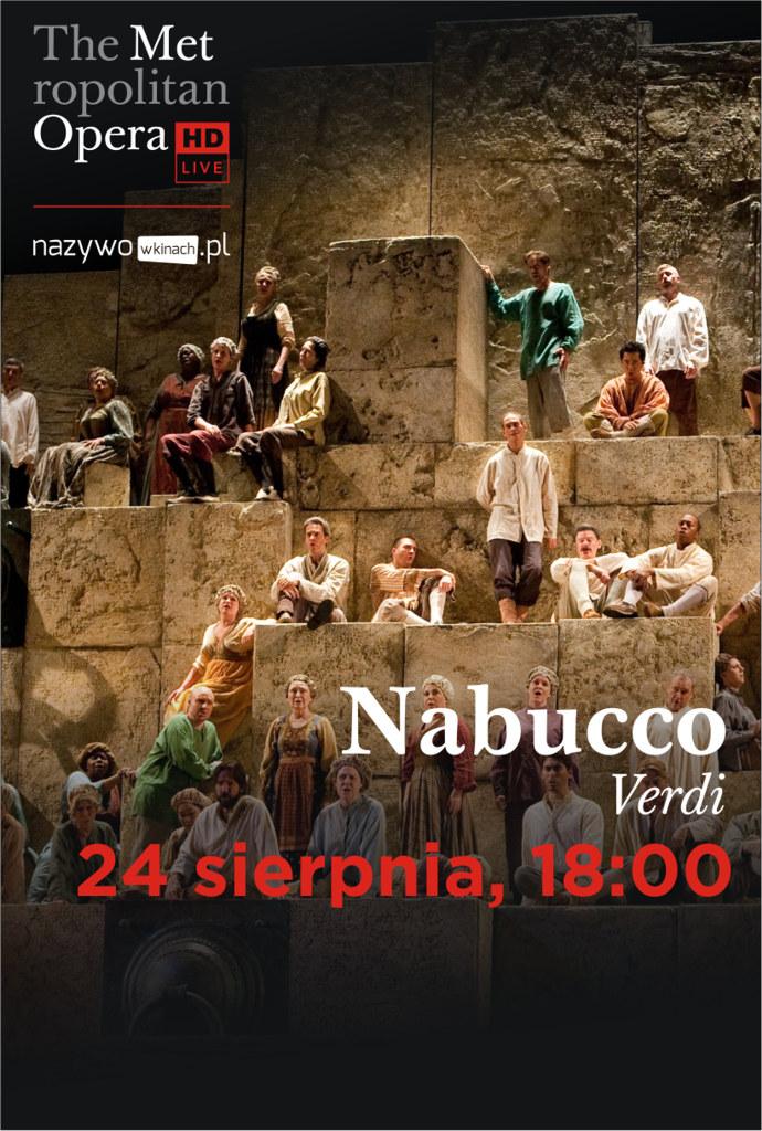 Met Opera: Nabucco