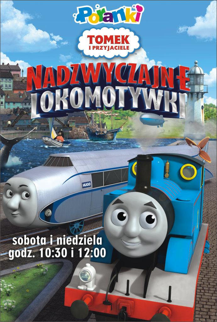 Poranki: Tomek i przyjaciele: Nadzwyczajne lokomotywki