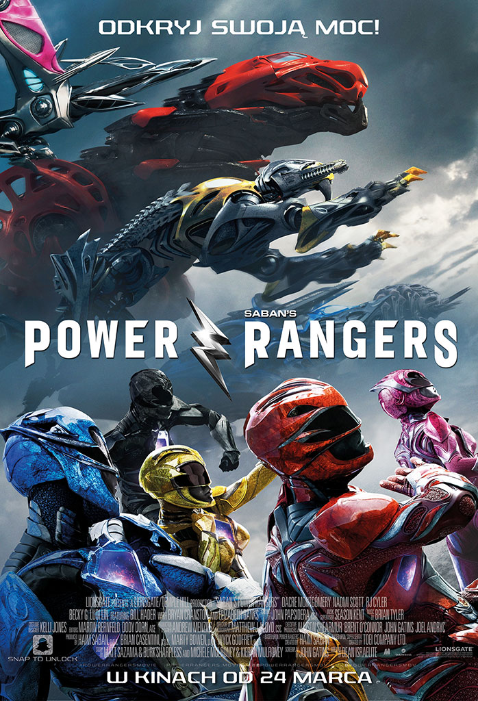Bilety na: Power Rangers