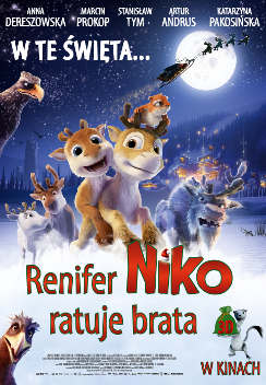 Renifer Niko ratuje brata 3D