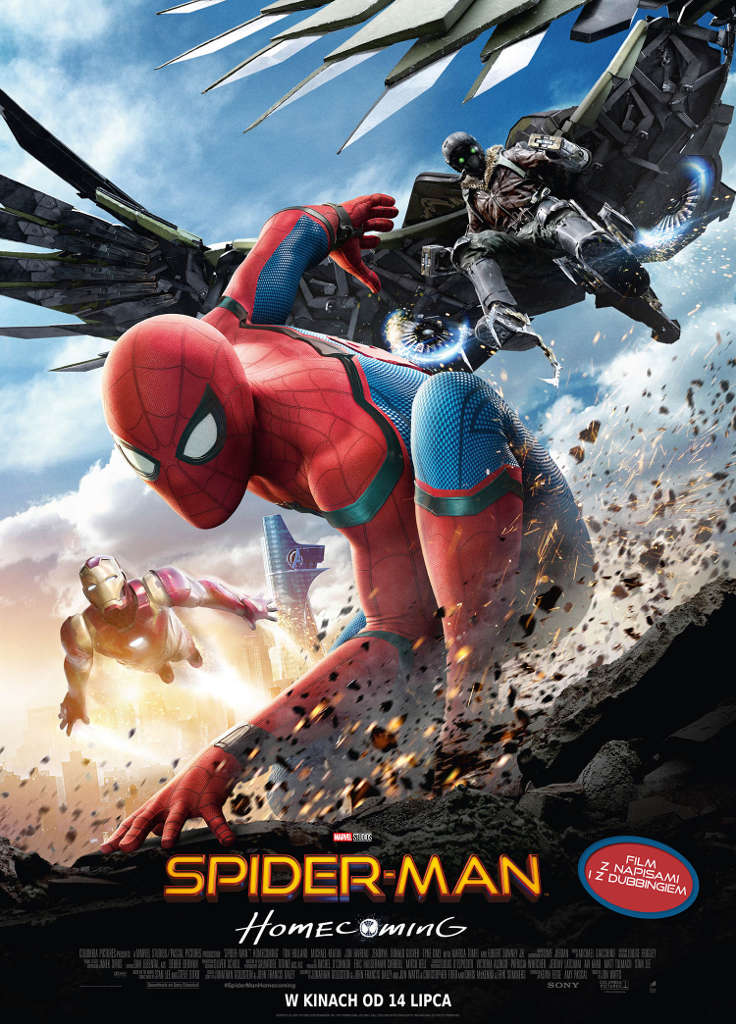Bilety na: Spider-Man: Homecoming